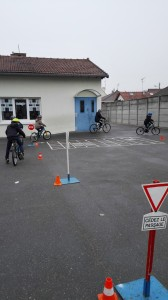 Un circuit routier à l'école !